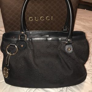 Authentic Gucci handbag. Minor wear and tear